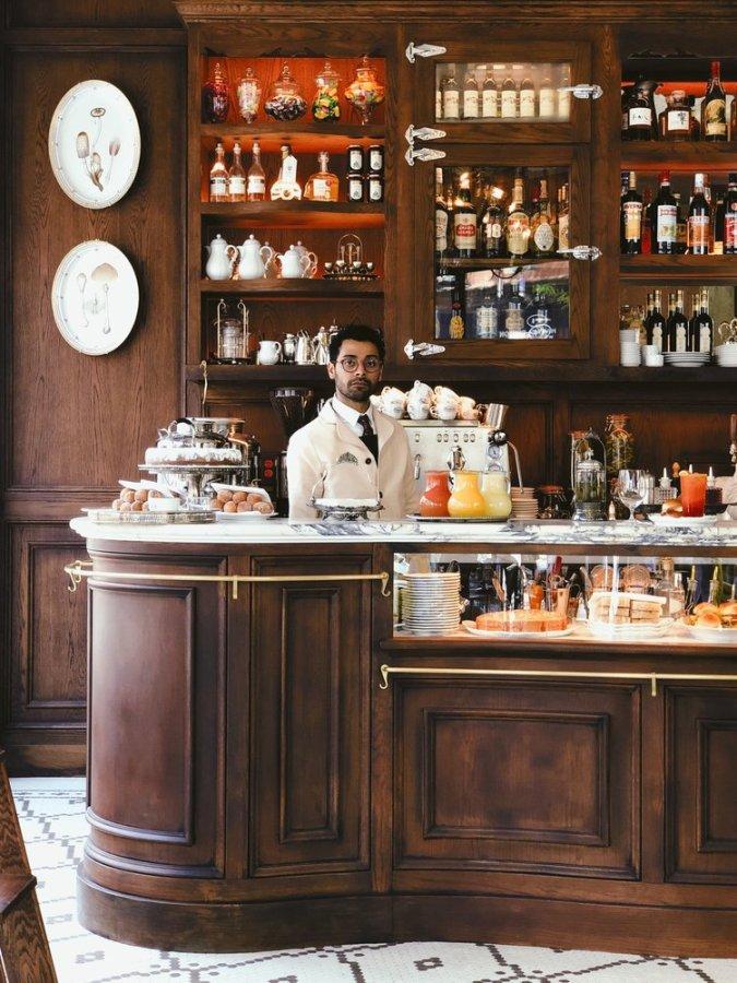 favorite New York coffee shop, Bar Pisellino.