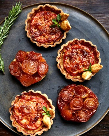 Tarts at La Mercerie in New York City