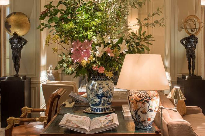 The Club Room of Lowell Hotel