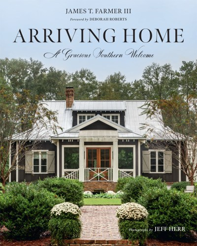 book cover for Arriving Home by James Farmer