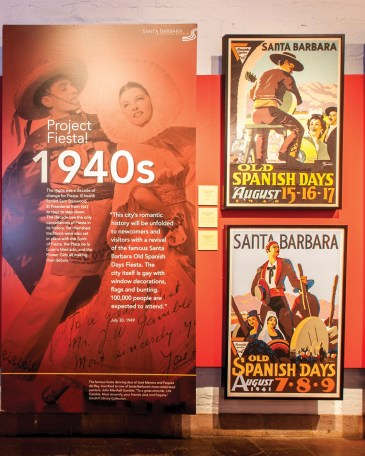 Exhibit Project Fiesta at Santa Barbara Historical Museum