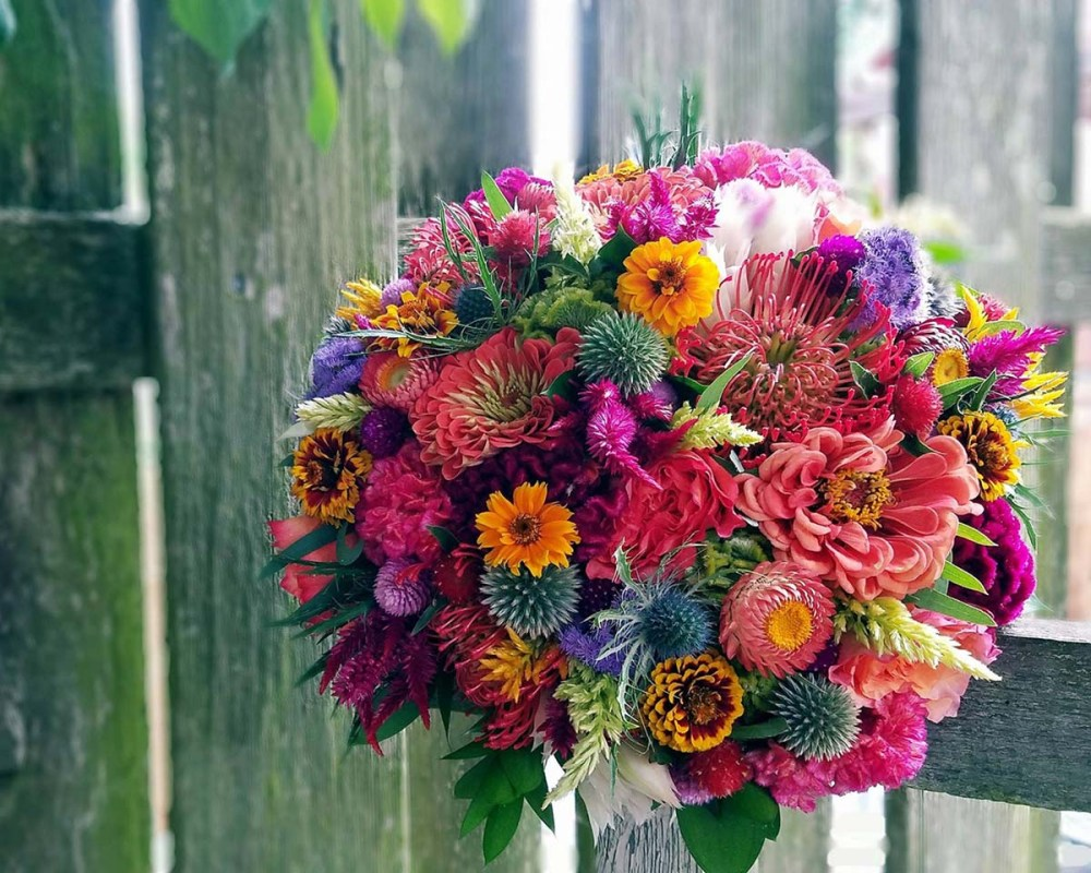 summer bouquet by by Natalie Ransom