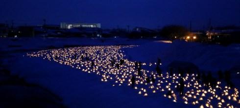 2018 春節東北賞雪☃冬夜裡的溫暖慶典:橫手雪屋祭