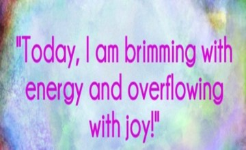 Energy and Joy