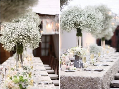 ball chairs for students small front porch gypsophila aka baby's breath is back in fashion, especially wedding flowers... | flowerona