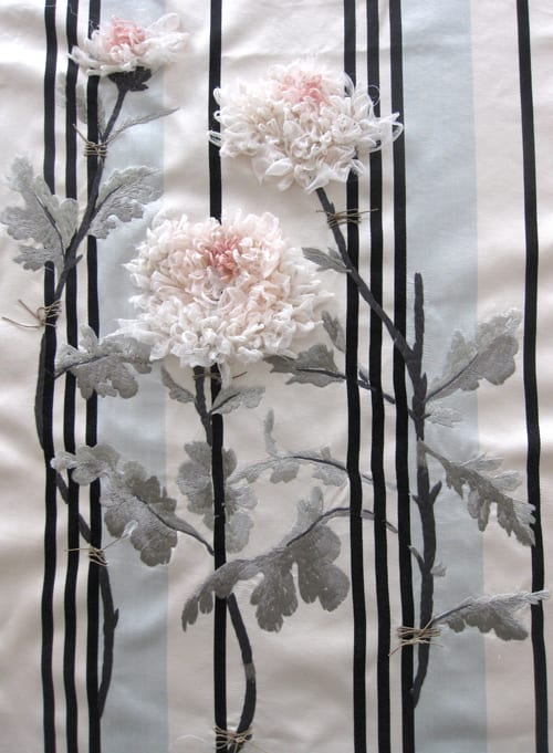 Introducing textile artist Karen Nicol  Flowerona