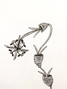 Flower sketch #5