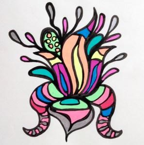Flowerosity sketch #30
