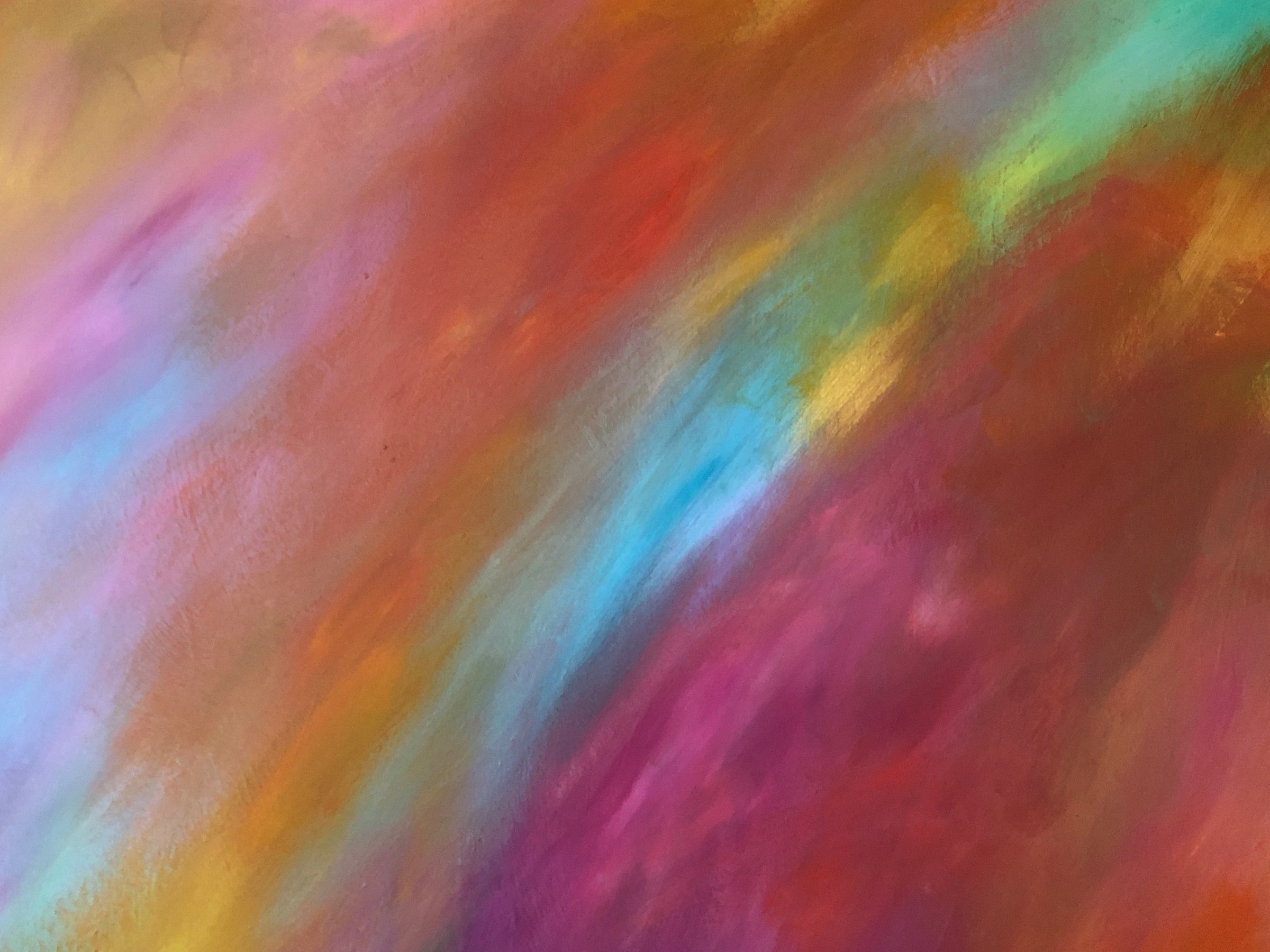 Living Color - cropped painting