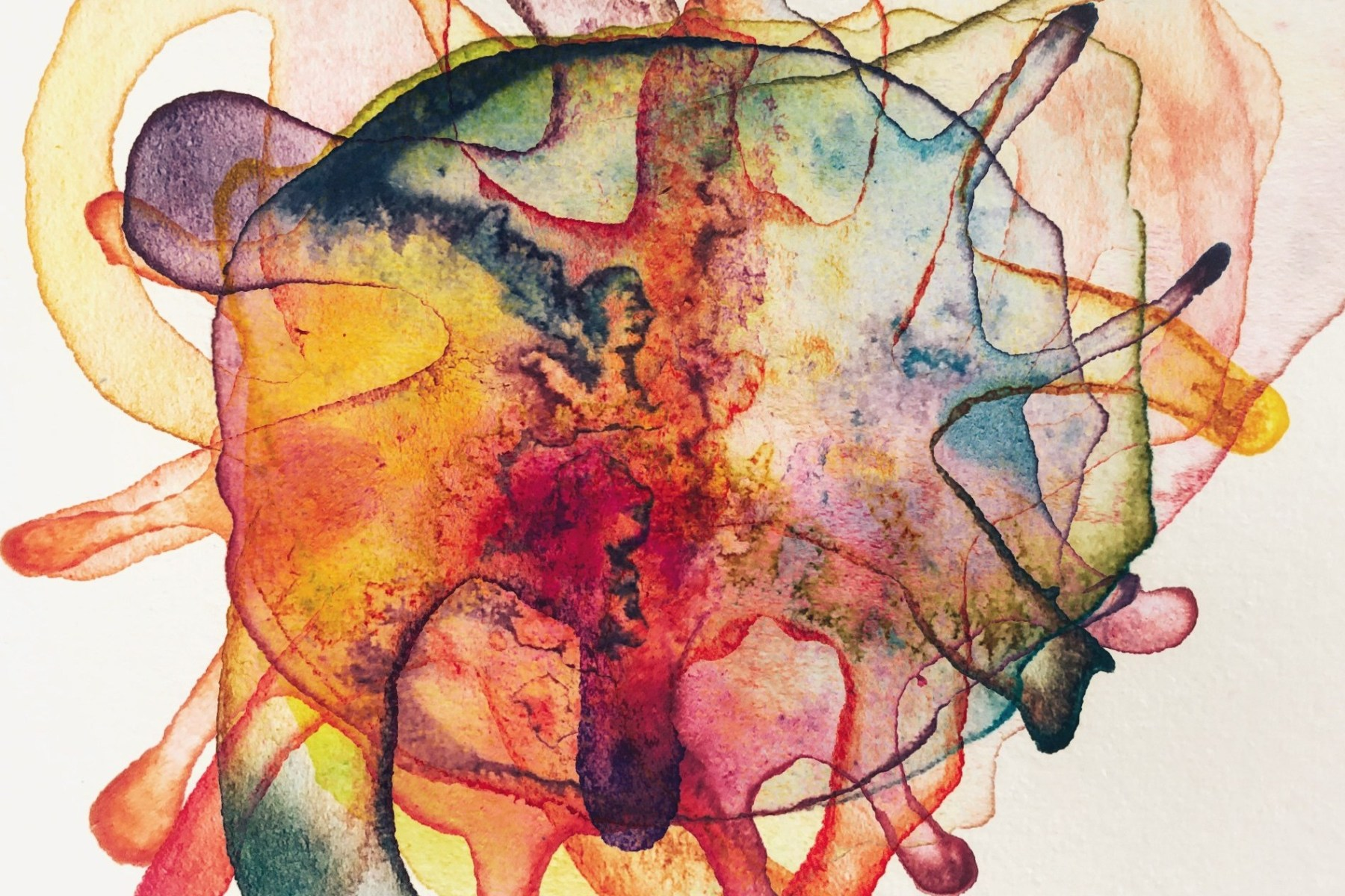 conscious art - layers and facets of Self - timeless