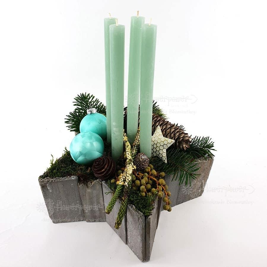 Kerzenstern Mint