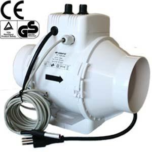 Estrattore TT 150mm - 552mc/h + Controller