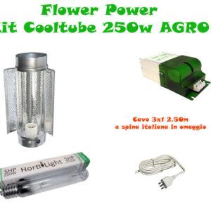 Kit Cooltube AGRO 250w Grow&Flow BASE