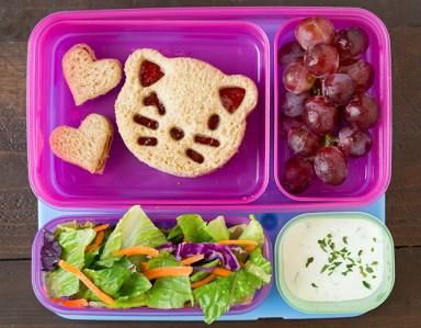 5 Fun Ways to Make PB&J - School Lunch Image
