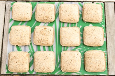 Homemade Uncrustables Sandwiches - School Lunch Image
