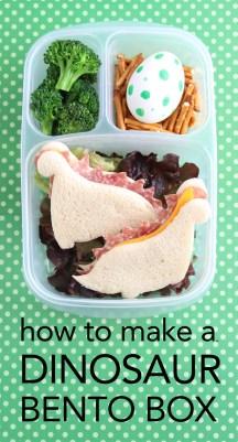 Dinosaur Bento Box - School Lunch Image