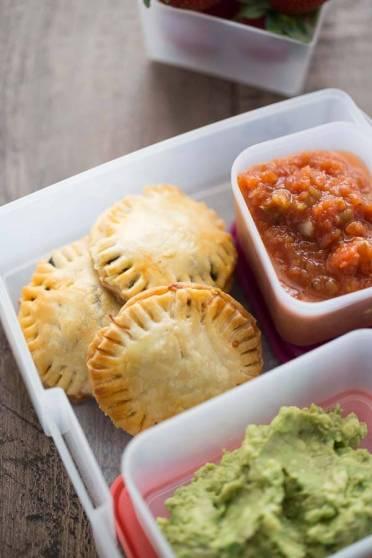 Mini Taco Hand Pies - School Lunch Image