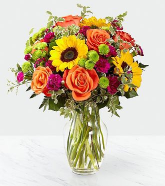 FTD Color Craze Bouquet - DELUXE - Birthday Flowers - Flowers Fast