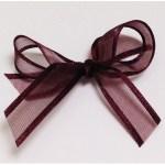 Dark Burgundy ribbon