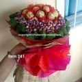 Home flower bouquets ferrero bouquets packages singing telegram