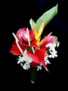 A walk through paradise bouquet