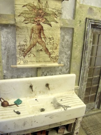 Sink and Poster