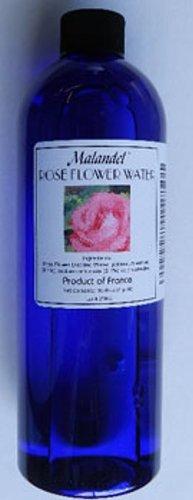 Rose Flower Water 16 oz. Malandel