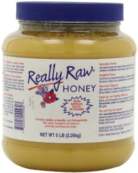Really Raw Honey, Totally Unprocessed, 5-Pound
