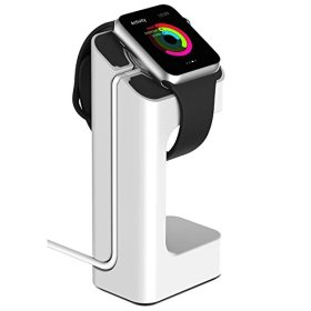 Apple Watch Stand, eLander™ Apple Watch Charging Dock / Station / Platform iWatch Charging Stand Bracket Docking Station Holder for 2015 Apple Watch 38/42mm Sport Edition All Models (White)