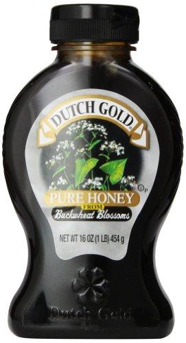 Dutch Gold Honey Honey, Buckwheat, Jar, 16 Ounce (Pack of 6)