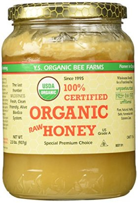 YS Eco Bee Farms Raw Honey — 2 lbs