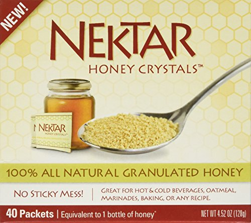 Nektar Naturals Nektar Honey Crystals, 40-Count