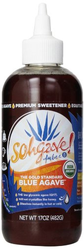 Sohgave! Premium Blue Agave, Amber, 17-Ounce Bottles (Pack of 6)