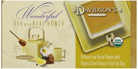 Davidson's Tea Single Serve Meyer Lemon, 100-Count Tea Bags