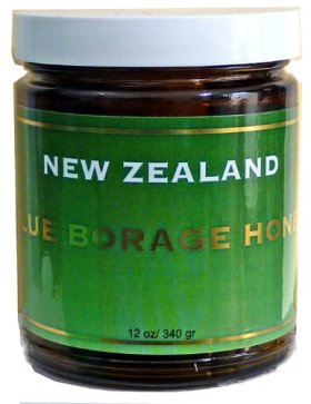 Blue Borage Honey in Glass Jars 340gr/12oz