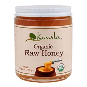 Kevala Organic Spreadable Raw Honey, 11.5 Ounce