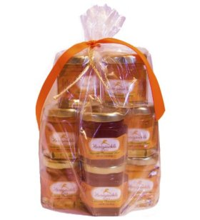 Sample Honey Gift Set – Organically Flavored – 10 Pack (Net Wt 2 Oz Each)