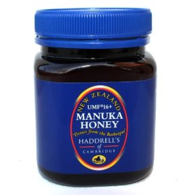 100% RAW UMF 16+ ACTIVE MANUKA HONEY 8.45 Oz. by Haddrell's of Cambridge