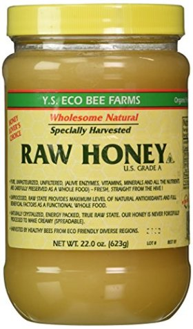 Y.S. Eco Bee Farms Raw Honey – 22 oz Pack of 3