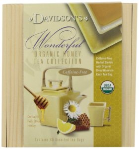 Davidson's Tea Honey Mini Tea Chest, 14 Ounce Box