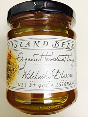 Hawaiian Macadamia Nut Blossom Raw Honey by Big Island Bees (9 ounce)