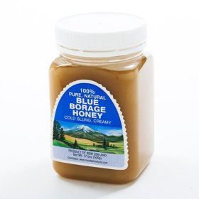 Blue Borage Raw New Zealand Honey (17.5 ounce)
