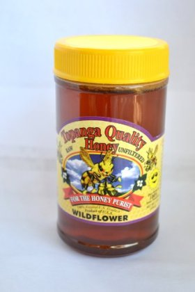 Topanga Quality Honey (Wildflower) Raw, Unfiltered, Unpasturized, Best Quality, All Natural, Kosher – 1 Pound each