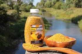 Fresh Bee Pollen Pure Raw Natural Nebraska Bee Pollen 1lb Jar