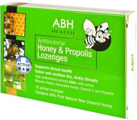 ABH ACTIVE Honey Lozenges with Propolis