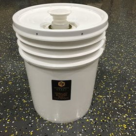 5 Gallon (60 lb) Bucket Raw, Unfiltered Texas Honey. Lowest priced bulk honey on Amazon!