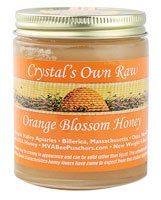 Crystal's Own Raw Orange Blossom Honey — 8.8 oz