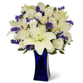 Certified Beyond Blue Bouquet – Theshopstation Online Fresh Flowers Bouquet – Wedding Flowers – Birthday Flowers – Anniversary Flowers – Flower Arrangements – Flower Bouquet – Floral