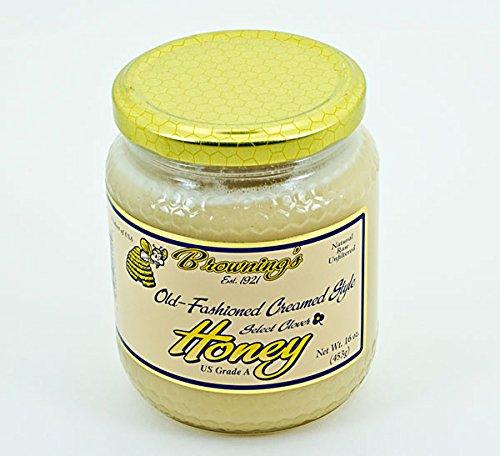 16oz Gift Jar Old-fashioned Creamed Style Honey