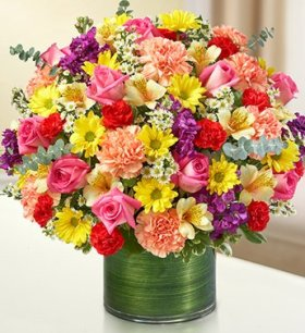 1-800-Flowers – Cherished Memories – Multicolor Bright – Large